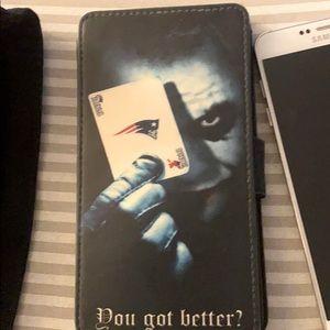 Joker Heath Ledger Dark Knight Patriot phone case